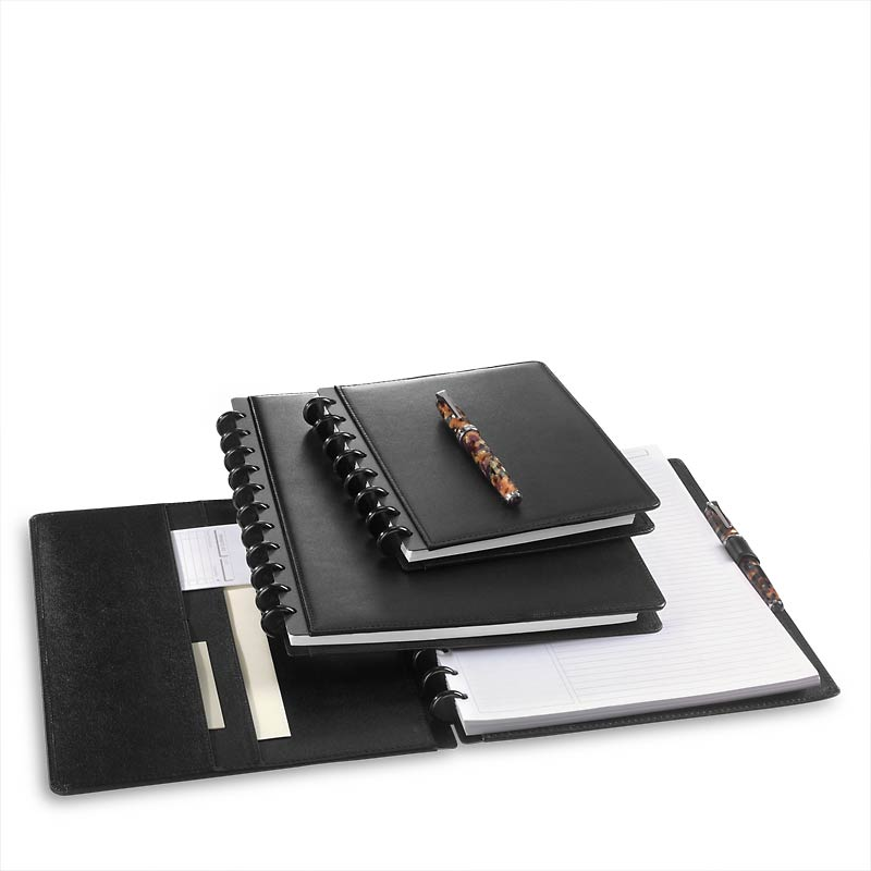 Circa Universal Leather Foldover Notebook