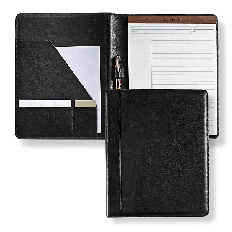 Executive Folio, Letter - Black