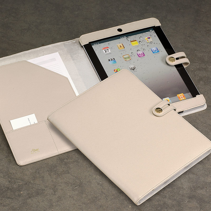 Tabula iPad Case, Beige
