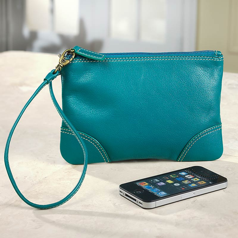 St. Tropez Pouch,Teal