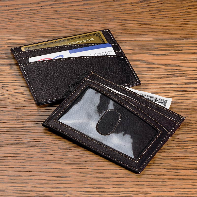 Bomber Jacket Front Pocket Wallet