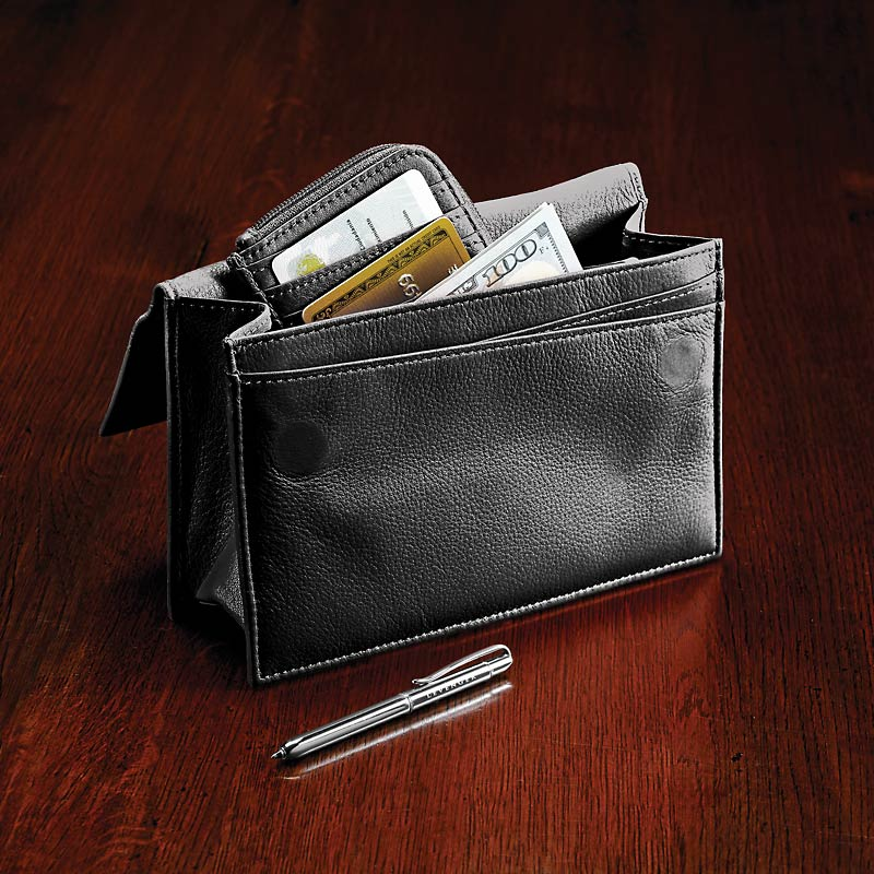 Travel Wallet & Passcase with Walletini pen