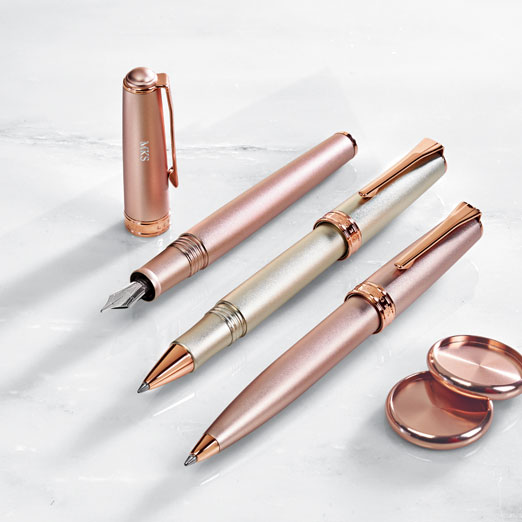 True Writer Create Rose Gold Metallic