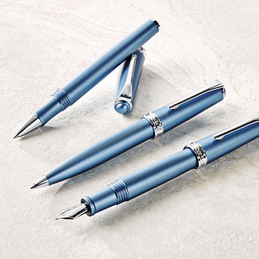 True Writer Create Blue Metallic
