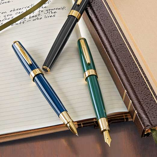 True Writer Select Black, Navy, Green