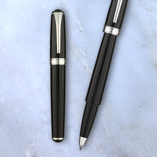 True Writer Obsidian Mini Ballpoint