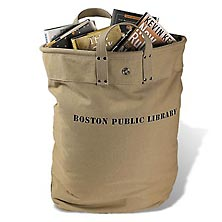 Boston Public Library Delivery Tote Bag