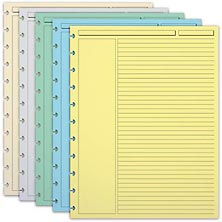 300 Circa Multicolored Annotation Ruled Refill Sheets