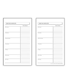 Special Request™ Scheduler Cards (set of 100), 3 x 5