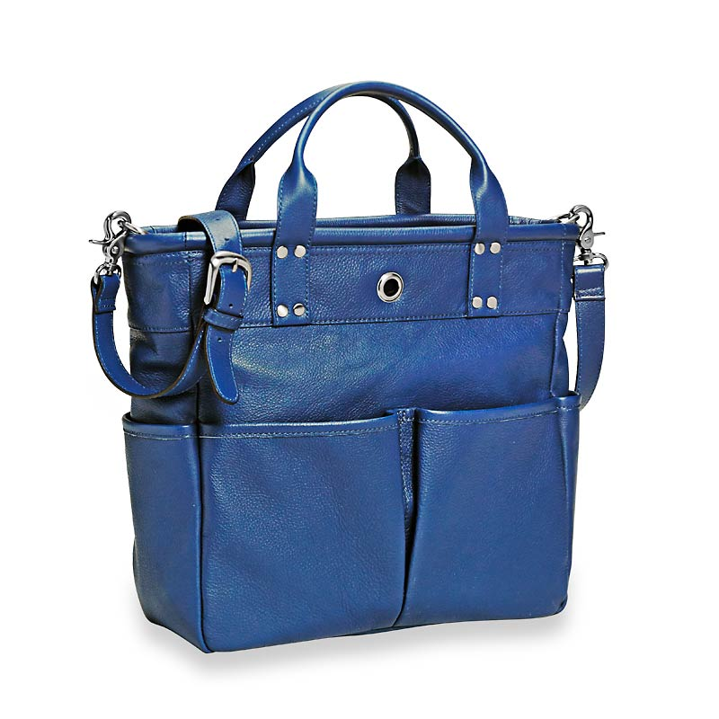 St. Tropez Leather Tote