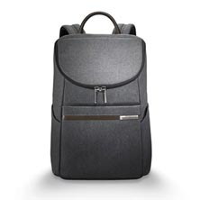 Kinzie Street Small Wide-Mouth Backpack - Gray