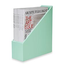 Simple Structure Magazine File, Mint