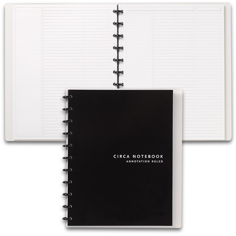 Circa Annotation Ruled Notebook, Letter