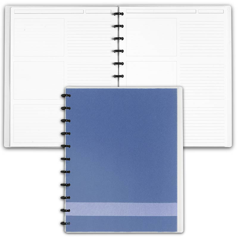 Special Request™ Circa Personalized Notebook, Slate, Letter