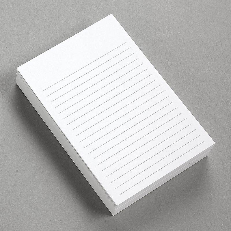 Special Request™ Vertical Ruled 4 x 6 Cards (set of 100)
