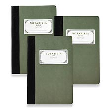 Notabilia On-the-Go Notebooks (set of 3)