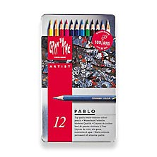 Caran D'Ache PABLO Water-Resistant Color Pencils