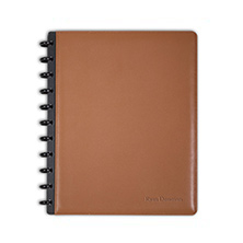 Circa Leather Foldover Notebook