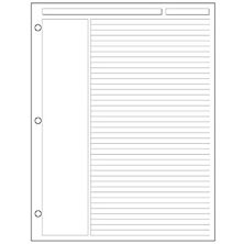 Special Request™ Annotation Ruled (100 sheets), 3-Ring, Letter