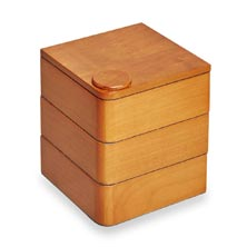 Cubi Stash Box - Natural Cherry