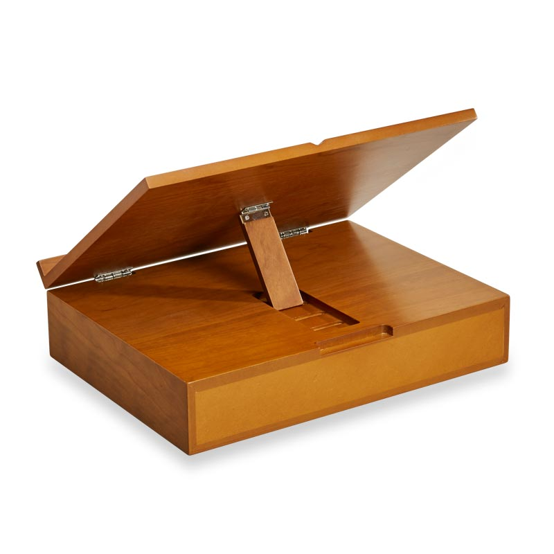 Cubi Storage Stand - Natural Cherry