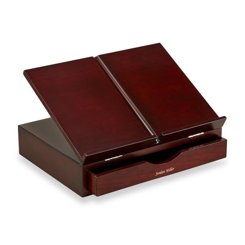 Cubi Storage Stand - Dark Cherry