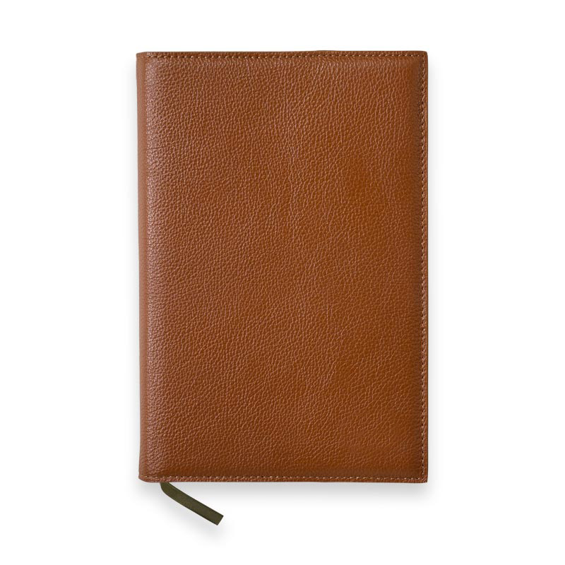 Leather 5-Year Journal Cover, Front