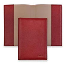 Leather 5-Year Journal Cover - Berry
