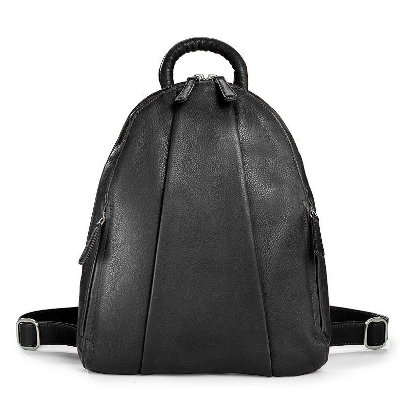 Marley Teardrop Multi-Zip Backpack, Black
