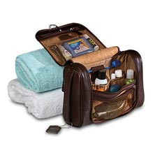Hanging Travel Kit, Mocha