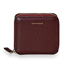 Carrie Coin and Card Wallet - Oxblood