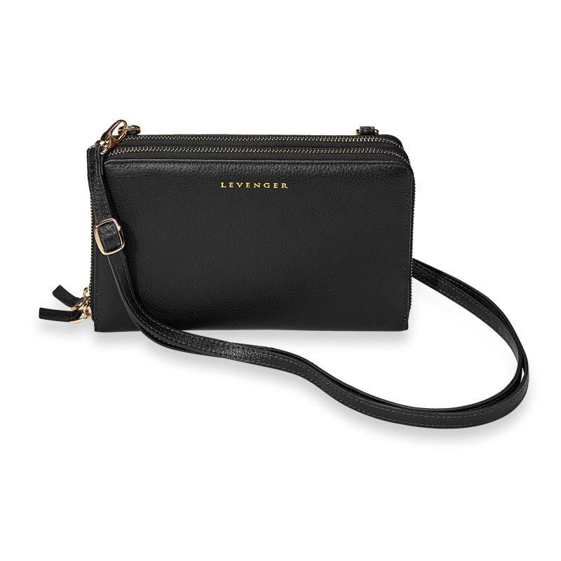 Carrie Convertible Clutch - Black