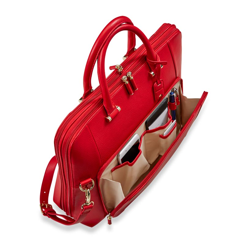 Blair Expandable Briefbag - Red