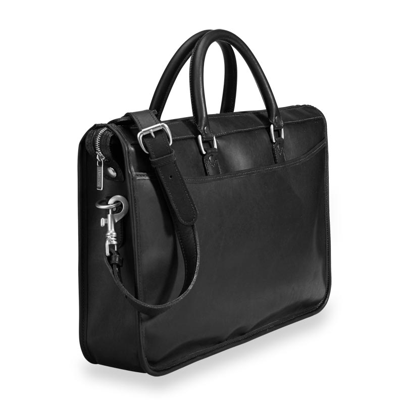 Tusting Marston Briefbag - Black