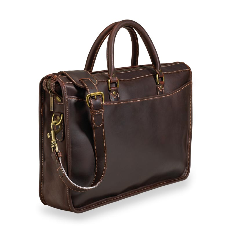 Tusting Marston Briefbag - Tobacco