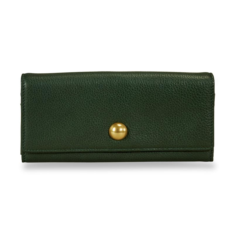 Jayne Accordion Wallet - Pine