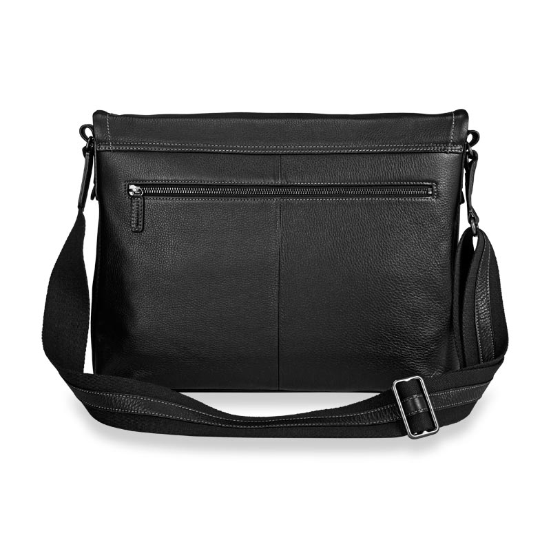 Bomber Jacket Laptop Messenger