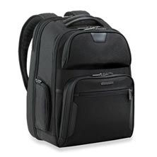 @work Large Clamshell Backpack - Black