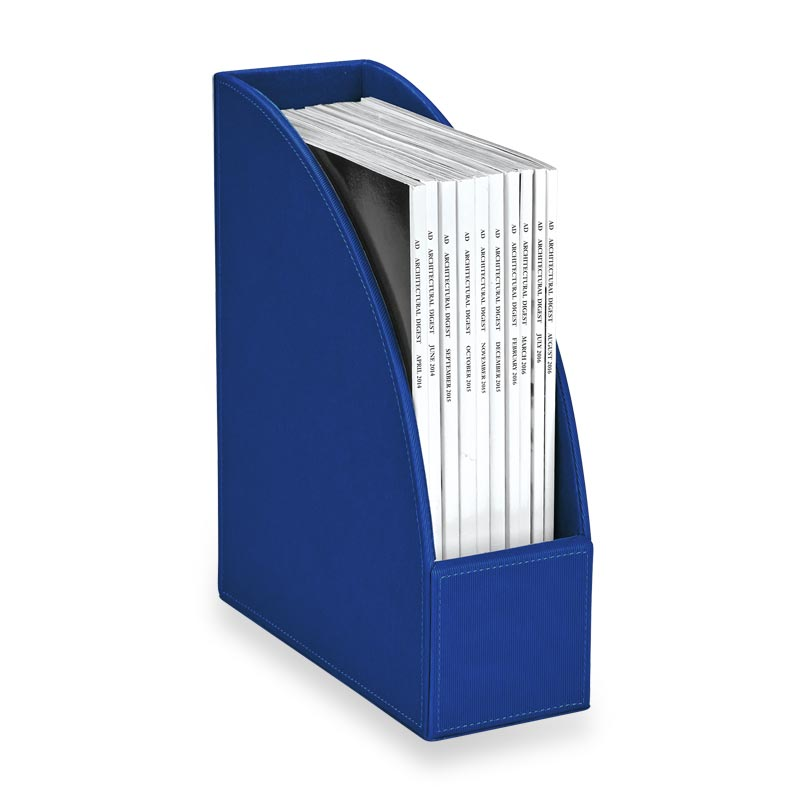 Textura File Holder - Blue