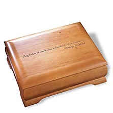 Natural Cherry Commemorative Box