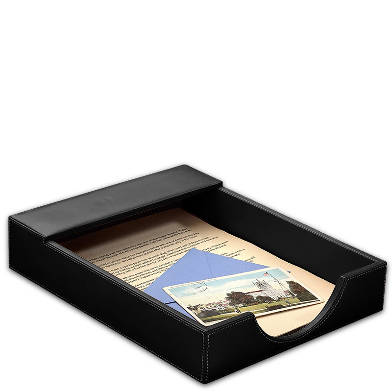 Morgan Letter Tray, Black