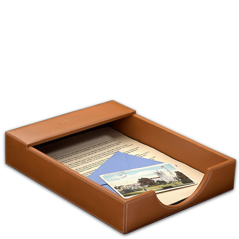 Morgan Letter Tray, Tan