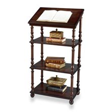 Library Stand - Plantation Cherry
