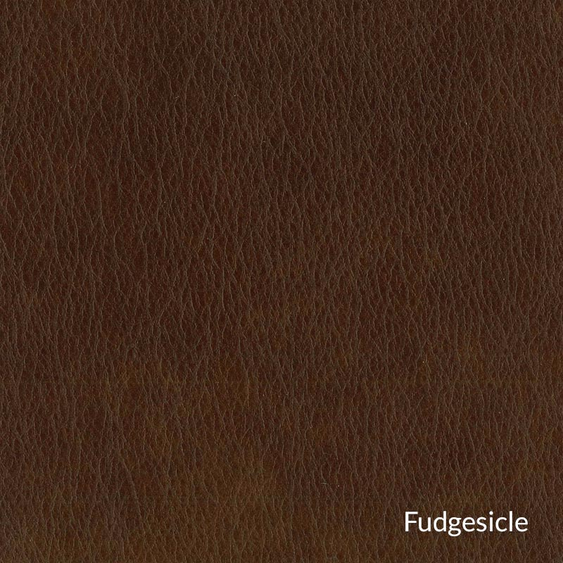 Levenger Leather Wingback Chair - Fudgesicle
