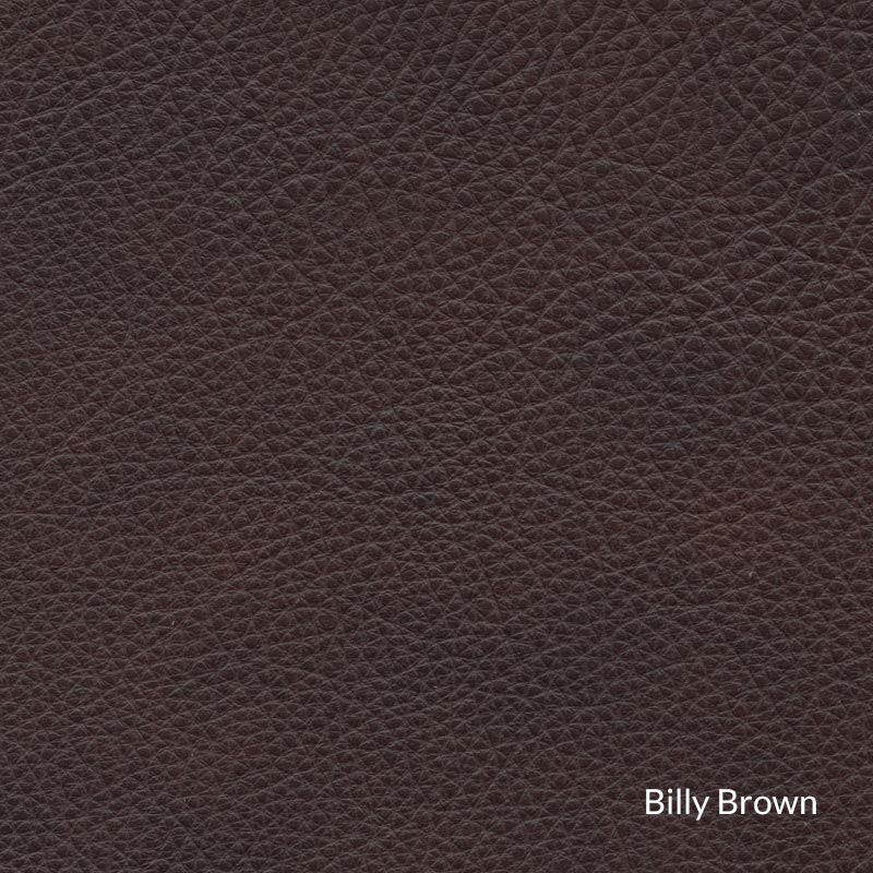 Levenger Leather Cardroom Ottoman - Billy Brown