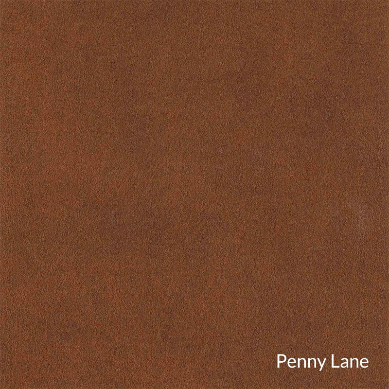 Levenger Leather Cardroom Ottoman - Penny Lane