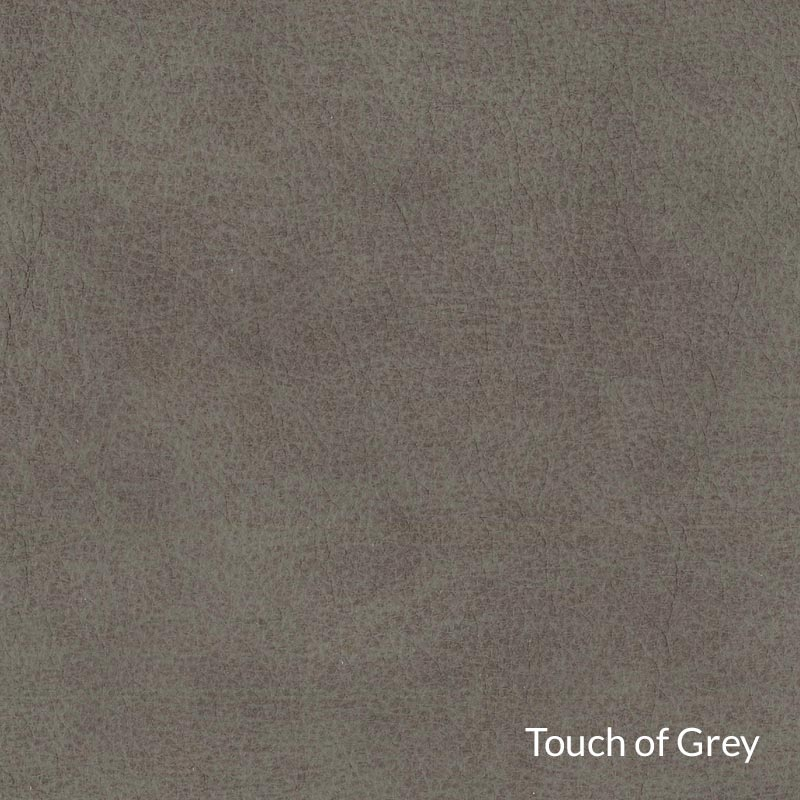 Levenger Leather Club Chair & Ottoman - Touch of Grey