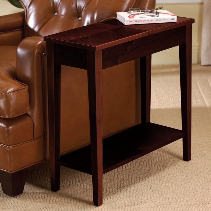 No-Room-for-a-Table™ Table, Dark Cherry