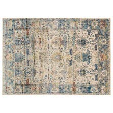 Anastasia Rug - Sand/Light Blue