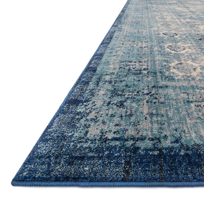 Anastasia Rug - Light Blue/Ivory